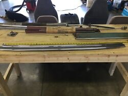 1964 Ford Galaxie Convertible Top Of Windshield Header Molding. 63-64 Mercury