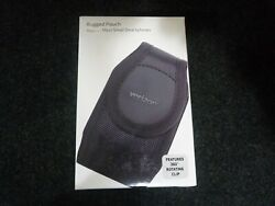 Verizon Black Rugged Pouch/case Fits Most Smart Cell Phones New Sealed
