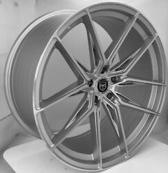 4 Hp1 22 Inch Staggered Silver Rims Fits Mercedes-benz Gle300 Suv 2016