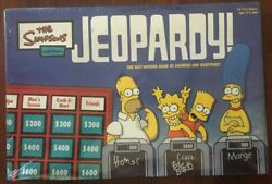 Pressman Jeopardy The Simpsons Game Special Edition