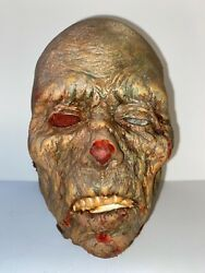 """Vintage """"head"""" Zombie Walking Dead Horror Gothic Solid Very Detailed Lot 1"""