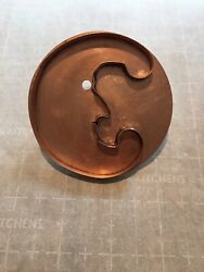 """Vintage Martha Stewart Copper Cookie Cutter 6"""" The Man In The Moon Nwot"""