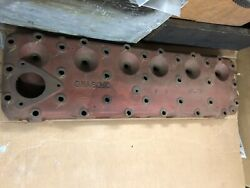 1949 - 1951 Ford Flathead 6 Cylinder New Old Stock Head Oha6050 - H24 3