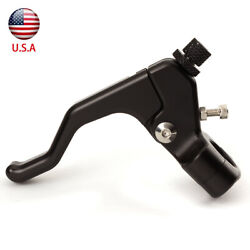 CNC Universal Short Motorcycle Clutch Lever For Stunting 1 Finger Easy Pull $25.99