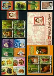 Rp13 Philippines - 2013 Complete Year Stamp Sets With Souvenir Sheets. Muh