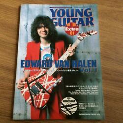 Used Van Halen Playing Vol.1 With Cd Young Guitar Extra Jananese Books