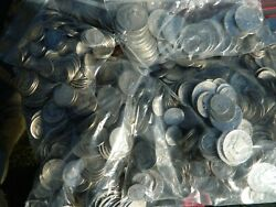 3/4 True Pound Lb. Junk Lot 90 Silver - Mercury Dimes - Old Cull And Better