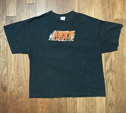 Vtg Early 2000and039s Nike Grey Tag Nike T-shirt Sz 2xl Orange Nike Spell Out