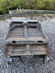 1932 Ford 3 Window Coupe Original Floor Pan And Under Seat Pan