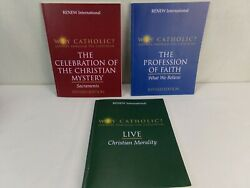 Why Catholic Renew International Book Lot Of 3 Journey Through The Catechism