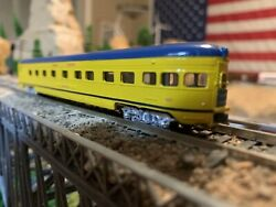 N Scale Con-cor Empire Limited Observation Passenger Car Great Falls Detailed