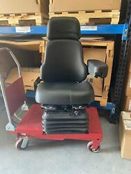 Caterpillar Oem H Series Wheel Loader Seat Made By Sears Seating Part 504-4297