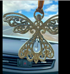 Set Of 6 Angel Ornaments Silver Gold Kurt Adler Wing Crafts 4 Christmas New