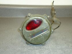 Vintage Guide Tail Light 9776050 24v Military Army Jeep Tank Transporter
