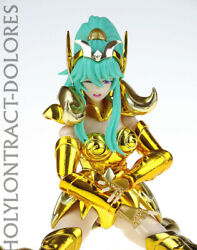 Made In China Gt Saint Seiya Female Gold Saint Aries Dolores Action Figure New