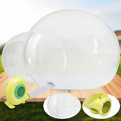 Inflatable Eco Home Tent House Outdoor Dome Camping Cabin Lodge Air Bubble 3mx5m