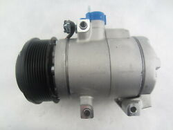 New A/c Ac Compressor For 2011-2015 Ford F250 Super Duty 6.7l Diesel