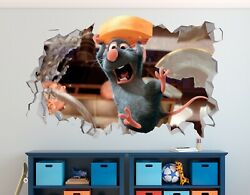 Ratatouille Cheese Custom Wall Decals 3D Wall Stickers Art M2492