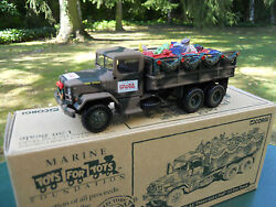 Corgi Military Ref 164715 8/12ft A1 2,5 Strand Truck Marine For Tots Mint In