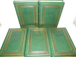 President Jimmy Carter Set Of 5 Collectible Book 1 Signed Leather Hardcover