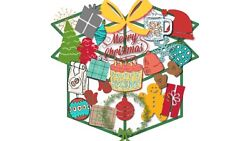 Christmas Family/home Mystery Giftsdecorationsgamessurprisefun Lot Mix Xlarge