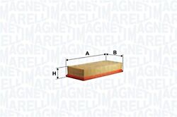 Magneti Marelli Air Filter For Vw Ktm Seat Caddy Ii Flight Lupo Polo 30198620