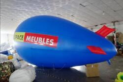 8m 26ft Giant Inflatable Helium Flying Balloon Advertising Blimp Airplain Y