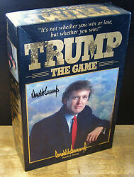 Trump The Game 1989 Donald J. Trump Signed, Milton Bradley, Art Of The Deal