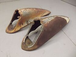 1936 Dodge Horn Covers / Surrounds Rare Hard To Find Mopar Solid No Rot
