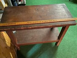 Vintage Workbench 44 X 32 Used Local Pickup Only