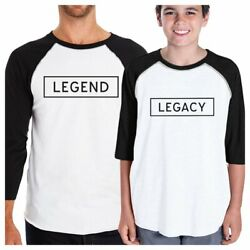 Legend Legacy 3/4 Sleeve Baseball T-shirt Unique Baby Shower Gifts
