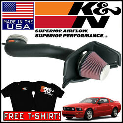Kandn Aircharger Cold Air Intake System Fits 2007-2009 Ford Mustang Gt 4.6l V8