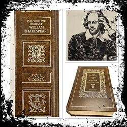 Vintage Collectible Antique The Complete Works Of William Shakespeare 1975