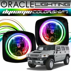 Oracle Dynamic Colorshift Headlight Halo Kit For 2003-2010 Hummer H2