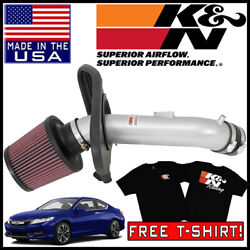 Kandn Typhoon Performance Cold Air Intake System Fits 2013-2018 Honda Accord 2.4l