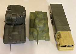 Roco Mini Tanks Military And Truck Lot 3 Pieces Nm