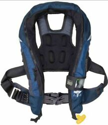 West Marine Ultimate Sail Automatic Inflatable Life Jacket With Harness And Leg St