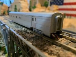 N Scale Con-cor Santa Fe Mail Car Well Detailed Finished Interior Nice New