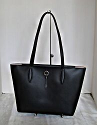 KATE SPADE Adel Small Leather Tote Black $109.50