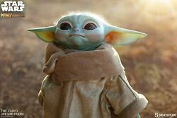 Sideshow Collectibles The Child Baby Yoda Life Size Figure Mandalorian Star Wars