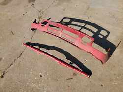 1985 Bmw 325es E30 Front Bumper Lower Valance Early Free U.s. Shipping