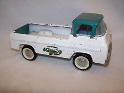 Vintage 1960and039s Nylint 5200-g Ford Econoline Gambles Pick-up Truck