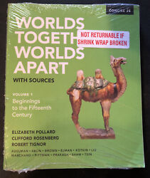 Worlds Together, Worlds Apart With Sources By Elizabeth Pollard W/access Code