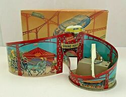 Rare Vintage Grand Huit French Roller Coaster Carnival Toy. Original Box