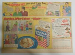 Ralston Cereal Ad Tom Mix Identification Bracelet 1948 Size11 X 15 Inches