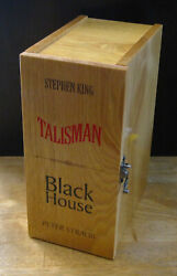 The Talisman And Black House, Stephen King Signed, 1st Editions In Dolso Box