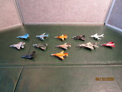 Lot Of 12 Mini Toy Airplanes