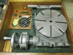 Used 11 Moore Vertical-horizontal Ultra-precision Rotary Table In Case Sr