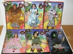 Barbie, Set Of 6 Wizard Of Oz Dolls, 50th Anniversary, Pink Label, 2008