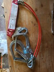 Protecra 4' 100 Tie-off Shock Absorbing Lanyard E4 Capital Safety 4' - Cable